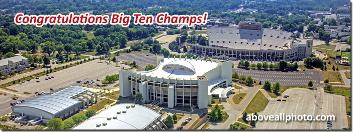 Big Ten Champions - Indiana University Basketball - Assembly Hall