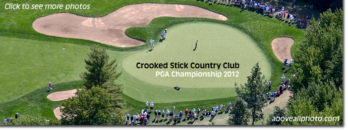 Crooked Stick 2012 BMW Championship Aerial Photo
