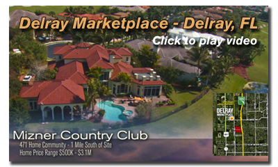 Aerial Video production of Delray Marketplace, Delray, FL