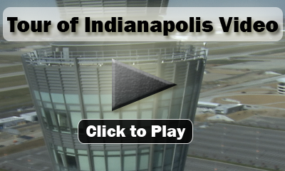 "Various clips show Indy's new airport (construction rather), our new ""Lucas Oil Stadium,"" (Home of the Indianapolis Colts), The Indianapolis Zoo, Indy Skyline, War Memorial, Indianapolis Motor Speedway, and many more."